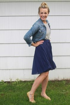 Pixley Carlyn Pleated Skirt ... this skirt!