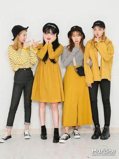 Korean Fashion Trends you can Steal – Designer Fashion Tips Korean Fashion Trends, Korean Street Fashion, Korea Fashion, Asian Fashion, Cute Fashion, Look Fashion, Girl Fashion, Fashion Outfits, Fashion Design