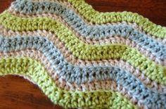 Chevron Crochet Cowl Free Pattern