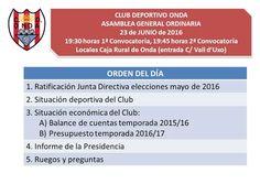 El triángulo » Asamblea del CD Onda, este jueves en la Caja Rural http://www.eltriangulo.es/contenidos/?p=63679