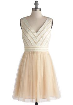 Fairytale of Two Cities Dress, #ModCloth  Love this dress, it's pretty and frilly. perfect for the girly girl. :)