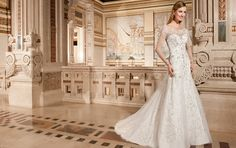 Demetrios Wedding Dress Style 4328 | www.DemetriosBride.com #DemetriosBride