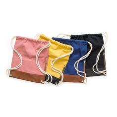 Cotton Twill Gym Bag | Rothirsch Online Shop Drawstring Backpack, Gym Bag, Trunks, Gym Shorts Womens, Swimming, Swimwear, Cotton, Bags, Shopping