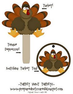 Turkey Hunt Game - - Pinned by @PediaStaff – Please visit http://ht.ly/63sNt for all (hundreds of) our pediatric therapy pins