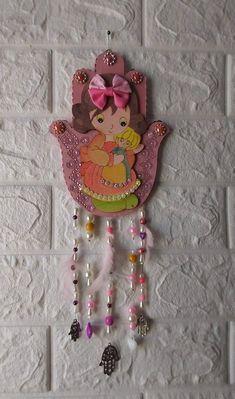 Hamsa Art, Good Luck Symbols, Wall Decor, Wall Art, My Etsy Shop, Christmas Ornaments, Holiday Decor, Girls, Check