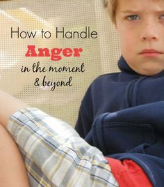 How to Handle Anger