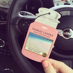 Keep your car smelling fresh and clean with a scent that suits you! Imagine feeling like your driving through a white sand beach on a tropical island.