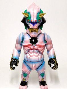 NEO JAPAN SFB ONI-SAKURA figure by Junnosuke Abe, produced by Restore.