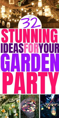 32 Amazing Summer Garden Party Ideas That Will Make Your Party The One To Remember summerparty gardenparty partyideas # Garden Party Games, Garden Party Decorations, Garden Parties, Summer Party Themes, Adult Party Themes, Summer Parties, Ideas Party, Bunco Themes, Tea Parties
