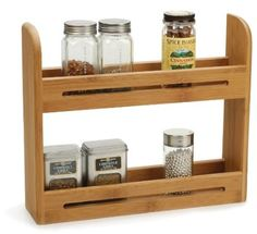 Amazon.com: RSVP Endurance Bamboo Spice Rack: Home & Kitchen