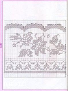 Crochê - Arte de Bordar - Bicos e Barrados - Elaine Cristini - Picasa Web Albums