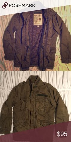 Abercrombie military jacket Rugged military jacket that commands attention. Abercrombie & Fitch Jackets & Coats Military & Field