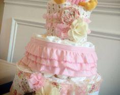 Custom Diaper Cake for Laura