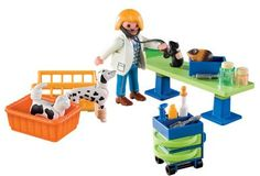 Playmobil vet clinic. I actually ordered this (another vendor) earlier today.
