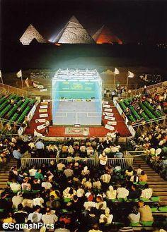Maybe the coolest squash court ever.  via squashsite.co.uk