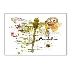 Possibilities Postcards (Package of 8) on CafePress.com