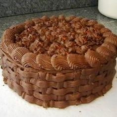 The name says it all! Yummy on its own or with chocolate frosting!