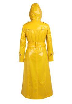 Latex, Rain Bonnet, Rubber Raincoats, Pvc Raincoat, Rain Gear, Yellow, How To Wear, Plastic, Woman