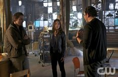 """Beauty and the Beast -- """"Out of Control"""" -- Pictured (L-R): Jay Ryan as Vincent, Kristin Kreuk as Catherine, and Austin Basis as JT -- Image Number: BB105b_0084.jpg -- Photo: Sven Frenzel/The CW -- © 2012 The CW Network, LLC. All rights reserved."""