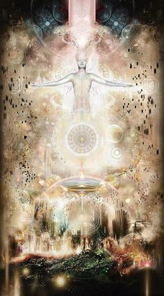 """Ascension is a shift in consciousness, a raising of all lower bodies (physical, emotional, mental and spiritual) to full awareness and presence in the NOW. Ascension is the raising of consciousness to a new level of existence, a shift from 3rd dimensional reality to that of the 5th dimension and beyond."" 