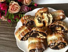 Szybkie drożdżówki z makiem - Blog z apetytem Polish Recipes, Polish Food, Spanakopita, Cheesesteak, Sushi, Sausage, French Toast, Blog, Pork