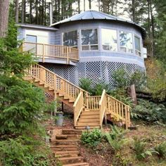 WA COAST 30' YURT.  A different type of yurt that meets state and county building codes per their FAQ page. Beautiful homes and an ideal solution for people who are looking for a yurt as primary residence.