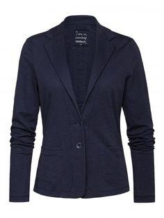 Jersey blazer Mood Indigo - Sandwich Summer '16 collection