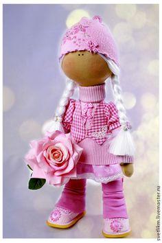 Человечки ручной работы. Ярмарка Мастеров - ручная работа Женечка. Роза для тебя.. Handmade.
