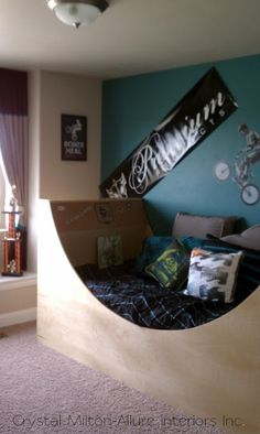 Skateboard Ramp Bed Seth Wants One Like This For The