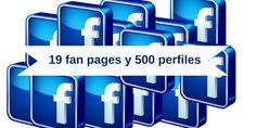 19 fan pages y 500 perfiles es una exageración, no eran 500 perfiles en #Facebook, aunque el título de Sabina resonaba en mi cabeza cuando me presentaron este caso. Una empresa con 20 fan pages y más de 30 perfiles con su nombre pero que no controlaba ¿Cómo los solucionamos? #SocialMedia #RedesSociales