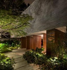 Since 1998 the Web Atlas of Contemporary Architecture Tropical Architecture, Beautiful Architecture, Residential Architecture, Contemporary Architecture, Architecture Details, Landscape Architecture, Interior Architecture, Landscape Design, Patio Interior
