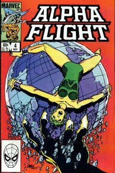 COMIC_alpha_flight_04 #comic #cover #art
