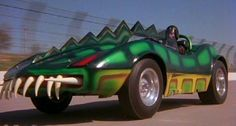 The above gator car, driven by David Carradine's character, was just one of the unbelievable tricked-out race cars featured in the movie. Description from gajitz.com. I searched for this on bing.com/images