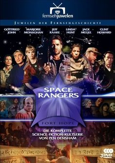 Space Rangers: Cover art of a DVD from Germany. Image from SF Series & Movies.
