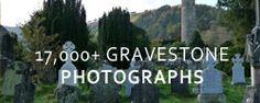 Free Gravestone Photographs, Ireland   #genealogy