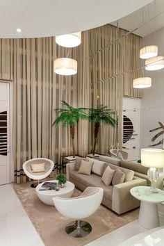 Casa Orquídea: Salas de estar modernas por Arquiteto Aquiles Nícolas Kílaris