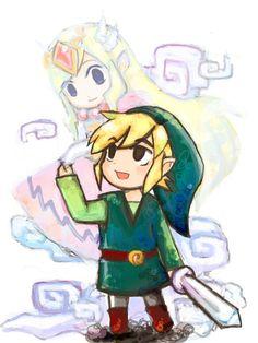 Zeeeeeeelda and Link xD