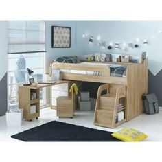 Buy Ultimate Storage Midsleeper Bed at Argos.co.uk - Your Online Shop for Children's beds, Children's beds.