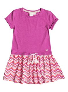 Roxy Girl's 2-6 The Ziggy Dress Girls - Pink (MLK6) #Roxy
