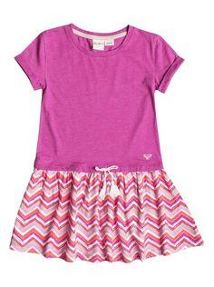 Roxy Girl's 2-6 The Ziggy Dress Girls - Pink (MLK6) #Roxy