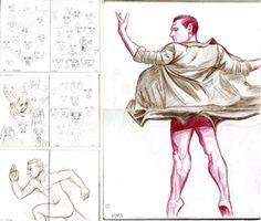 Ellis - DRAWING A DAY 2016 – FEBRUARY, illustration, realism, art, freelance
