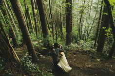 Wedding in the woods - Hither and Thither