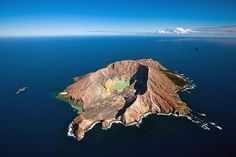Whakaari / White Island is an active andesite stratovolcano, situated 48 km from the east coast of the North Island of New Zealand, in the Bay of Plenty. Pictures Images, East Coast, New Zealand, Wildlife, Island, News, Water, Photography, Travel