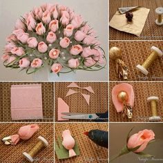 We are used to give flowers when celebrating with friends and family. What about sending a bunch of original flowers made from sweets, neatly packaged in a delicate paper? Ready