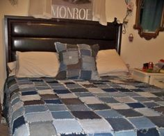 Denim Rag Quilt