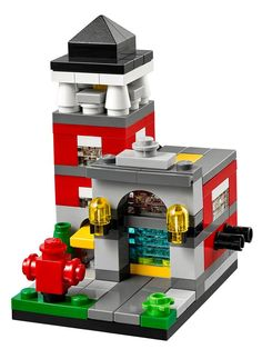 All the latest news on Lego sets and other goodies, plus the latest awesome MOCs, brick films, and Ideas proposals. Casa Lego, Modele Lego, Lego Fire, Micro Lego, Lego Boards, Minis, Architecture Design, Lego For Kids, Lego Modular