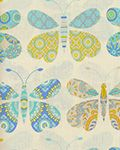 Clearance Free Spirit - Dena DF96-BLUE Butterfly applique on curtains?