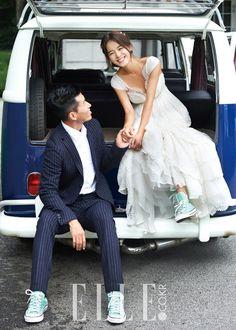Dress_  션,정혜영's Remind wedding  - ELLE