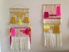 CUSTOM weaving for Amaryllys woven wall hanging by Maryanne Moodie