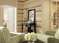 Wohnzimmer Modern Streichen   Linien Anmalen   Wohnzimmer Streichen U2013 106  Inspirierende Ideen